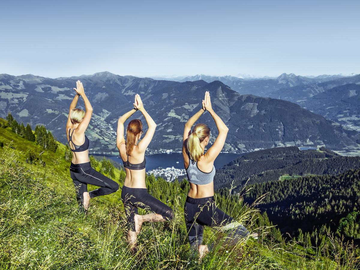 Yoga bij Sell am See