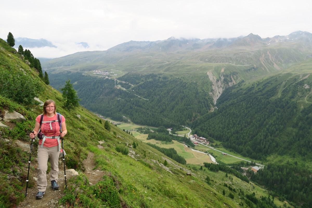 bergwandelen in Oostenrijk