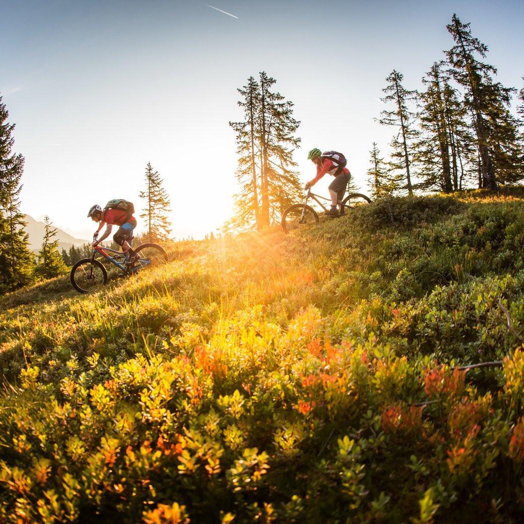 Mountainbiken bij Saalbach
