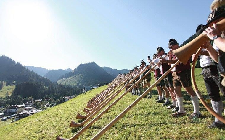 Alpenhornblasen 1x per 2 jaar