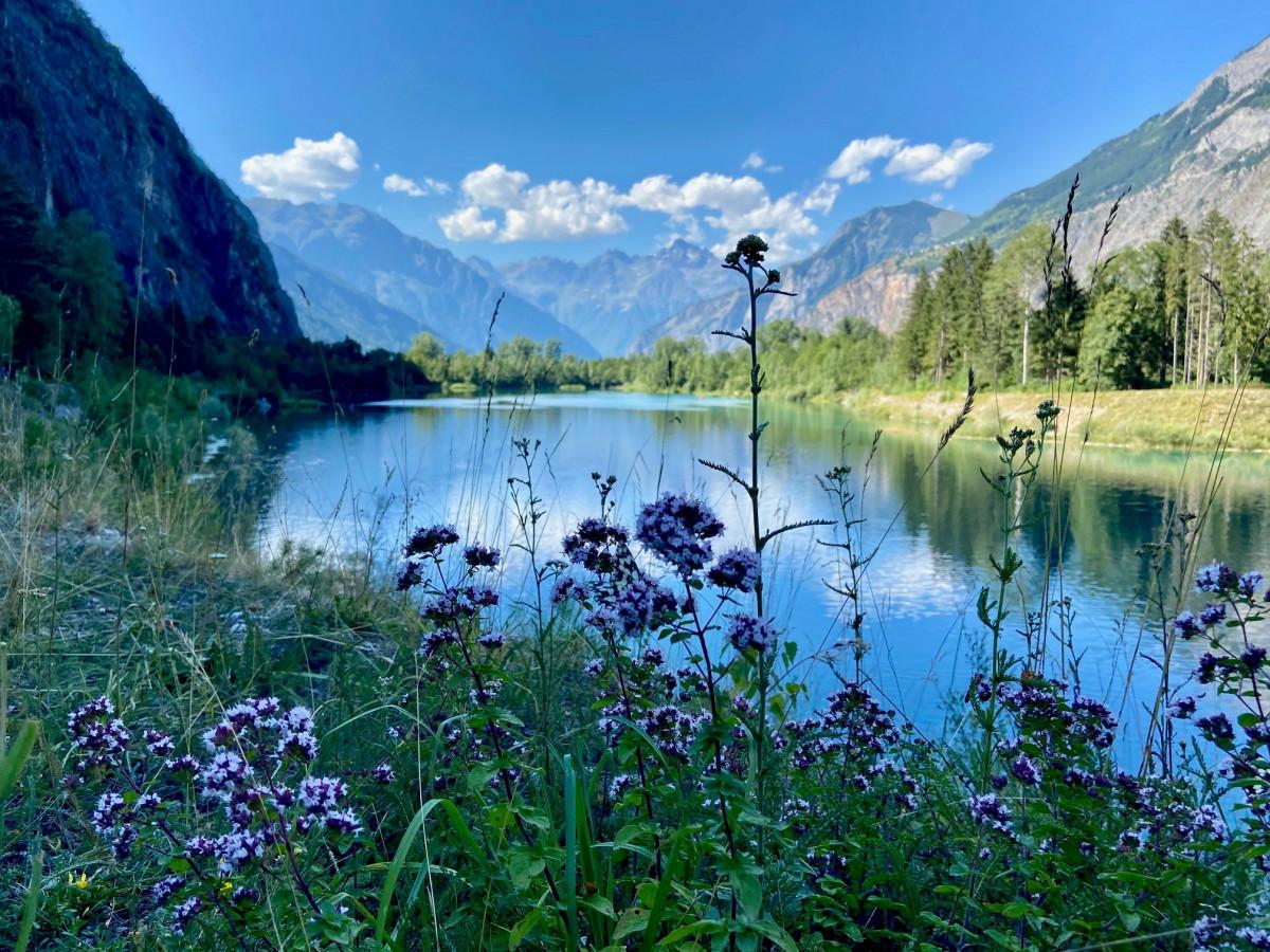 De naam laat zich raden. Lac Bleu. Foto: Maaike Somers