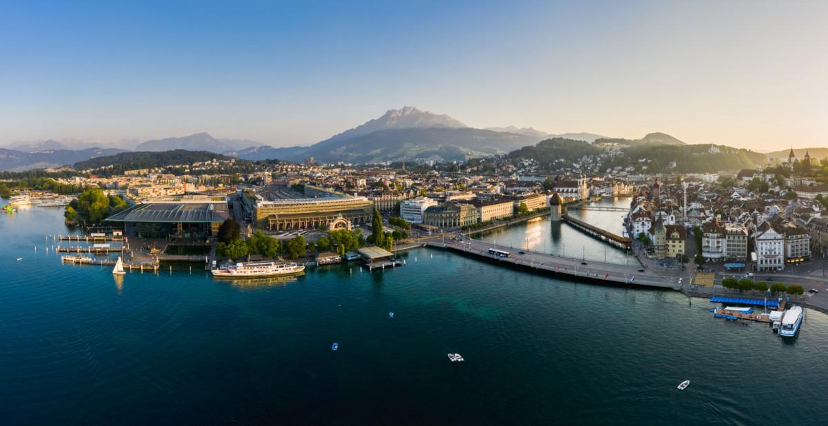 Uitzicht op Luzern
