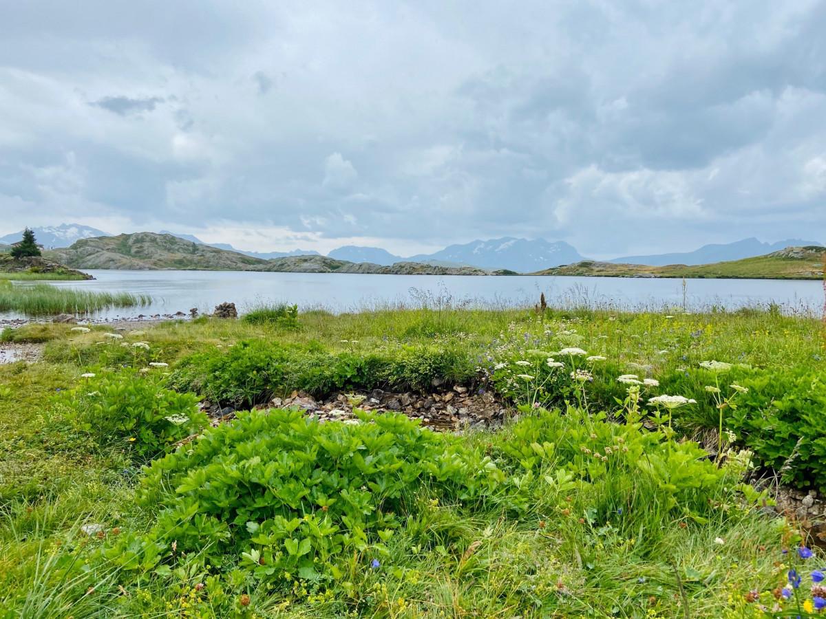 Één van de drie meren. Foto: Maaike Somers