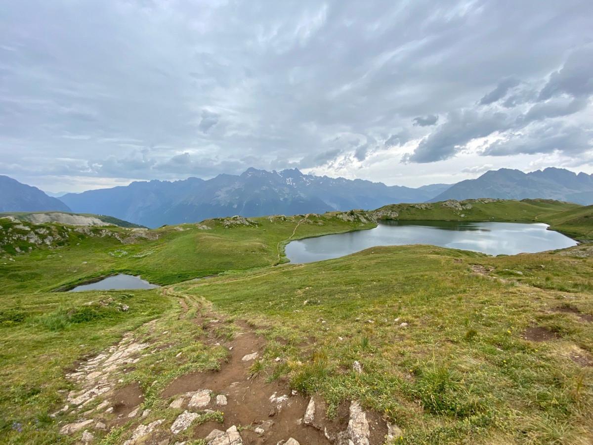 Hiken in Alpe D'Huez. Foto: Maaike Somers