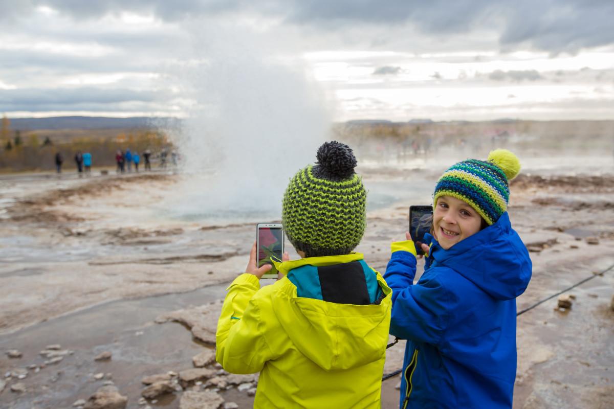 IJsland, het land van de geisers