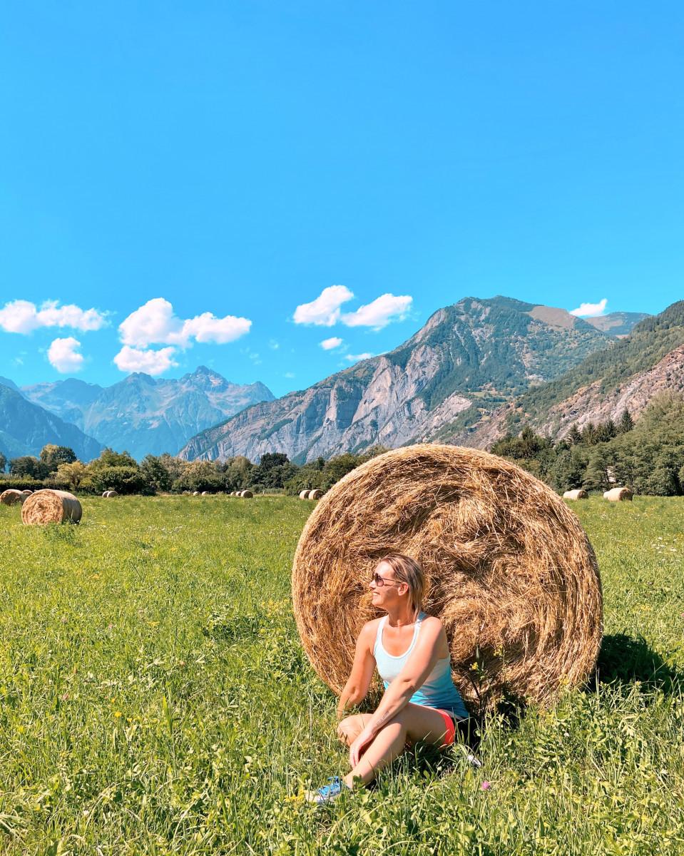 Wat een uitzicht in Isère. Foto: Maaike Somers