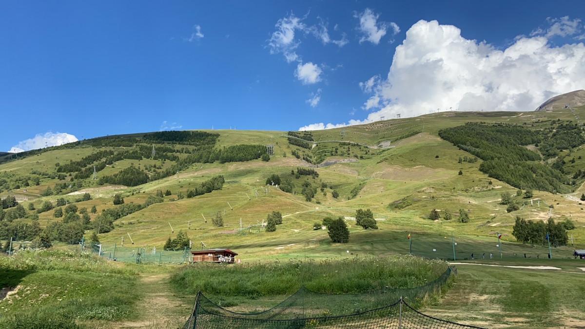Les Deux Alpes in de zomer. Foto: Maaike Somers