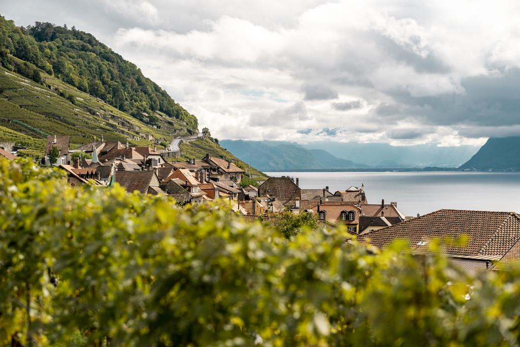 Zicht op het meer. Copyright: Zwitserland Toerisme