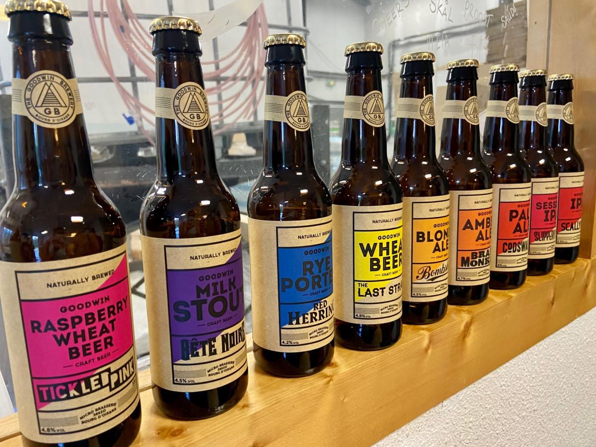 The Goodwin Brewery. Foto: Maaike Somers
