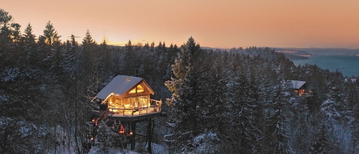 Treetop-cabin Noorwegen
