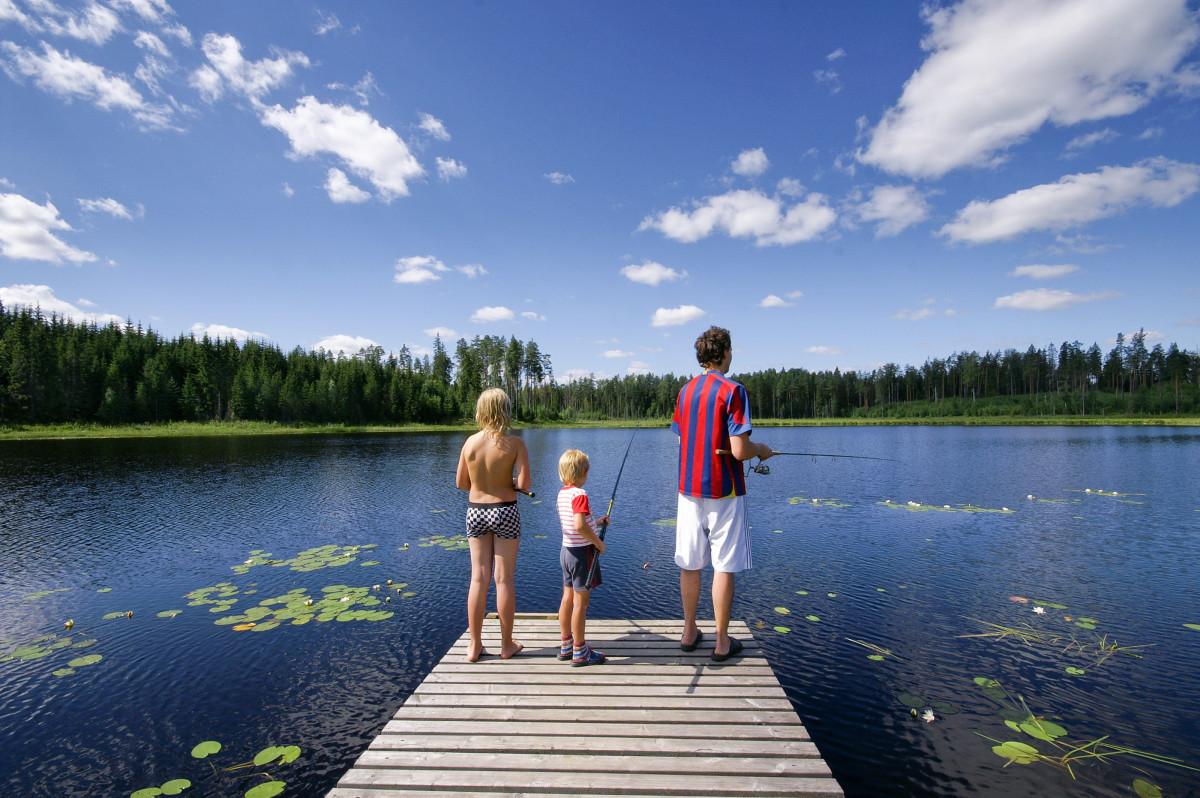 Op pad in Zweden met het hele gezin