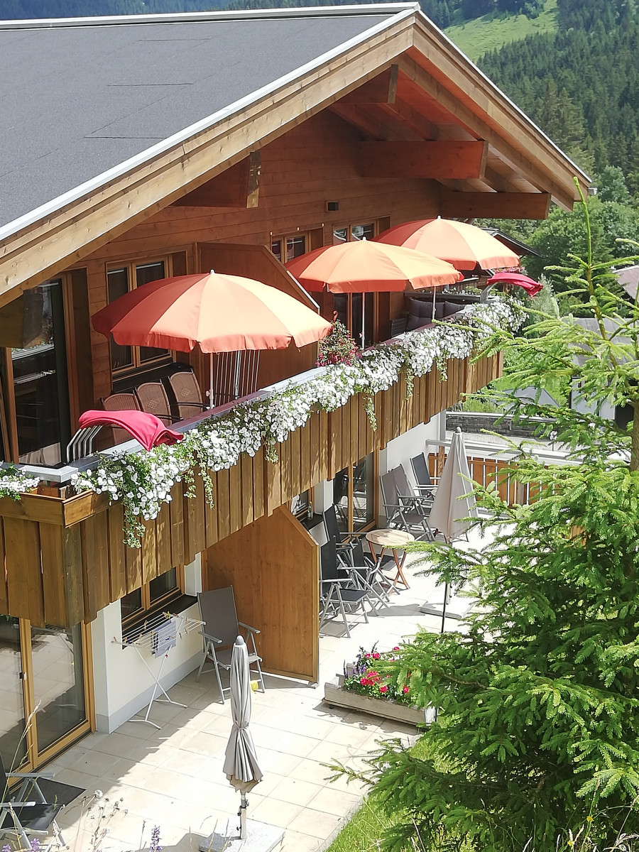 terrassen appartement 1 en 2